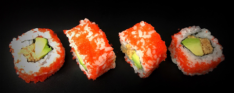 Foto Out maki spicy zalm